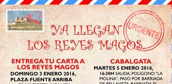 seccion cartel fiesta infantil reyes álora cabecera