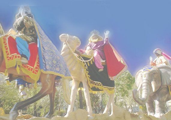 Cabalgata de Reyes Magos en Álora