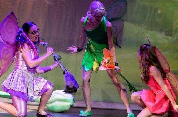 campanilla el musical espectáculo infantil teatro las lagunas mijas baile cabecera