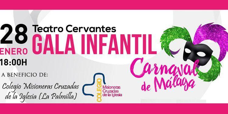gala infantil carnaval de málaga 2016 cervantes cabecera