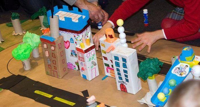Talleres arquitectura para niños en la Escuela Coleta Marbella cabecera