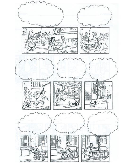 imagen comic mudo rellenar texto blog infantil tebeo