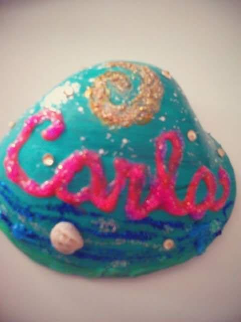 C mo pintar conchas y caracolas marinas la diversiva - Como hacer conchas finas ...