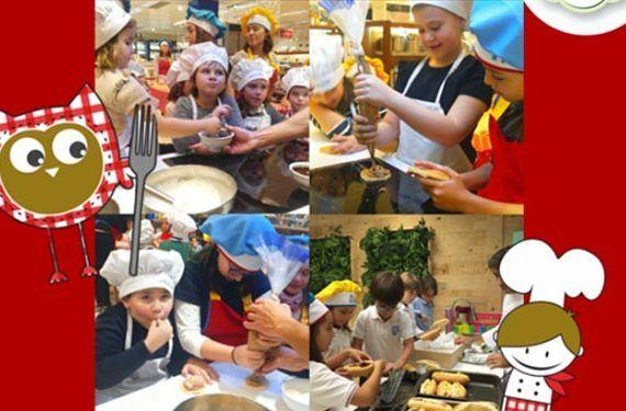 club happy cooking show corte inglés taller niños cabecera