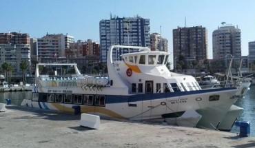 reportaje barcos muelle uno ferry malaga benalmadena amarra cabecera