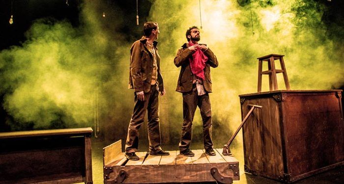 compañía pata teatro frankenstein no soy monstruo personajes carra cabecera