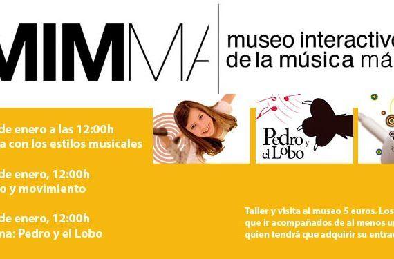 mimma talleres enero actividades música cabecera