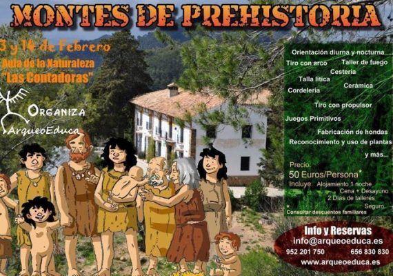 Montes de prehistoria en Málaga