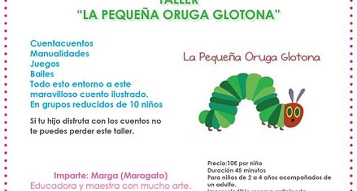 Actividad con el cuento La pequeña oruga glotona para niños de 2 a ...