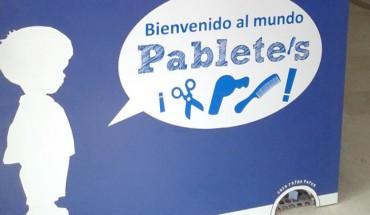 Pablete's galería cumpleaños fiestas niñas maquillaje cabecera cumples