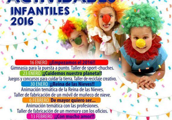 Actividades infantiles en Rincón de la Victoria