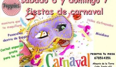 Carnaval infantil en Poppins
