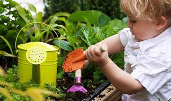 Taller de jardinería infantil