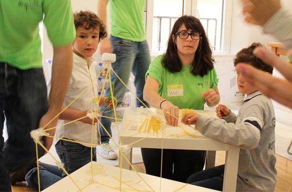 la térmica talleres niños ejercicio arquitectura infantil cabecera