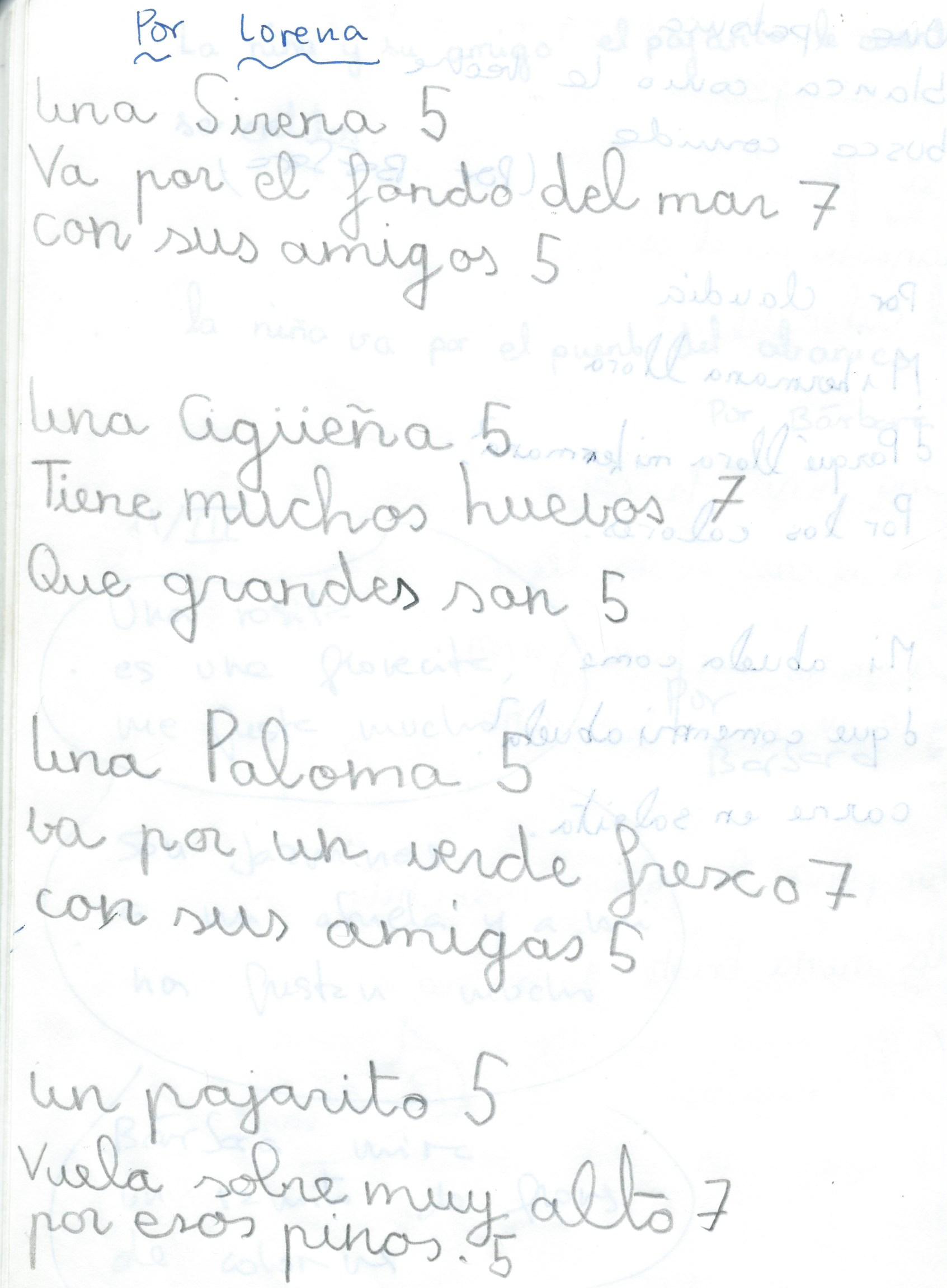 Haikus de Lorena