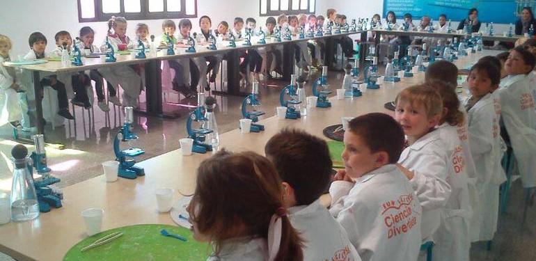 Talleres de ciencia divertida en Málaga