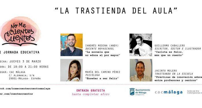 Jornadas sobre educación ene el CAC Málaga