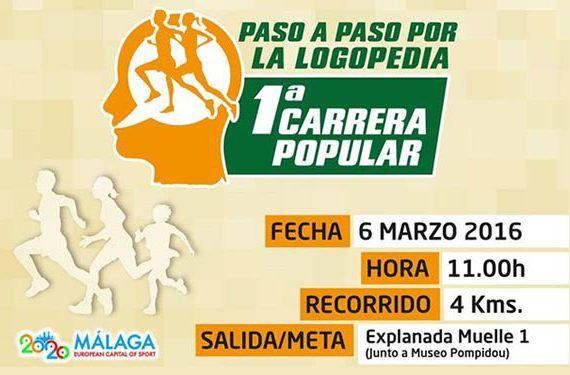 Carrera del Día de la Logopedia en Málaga