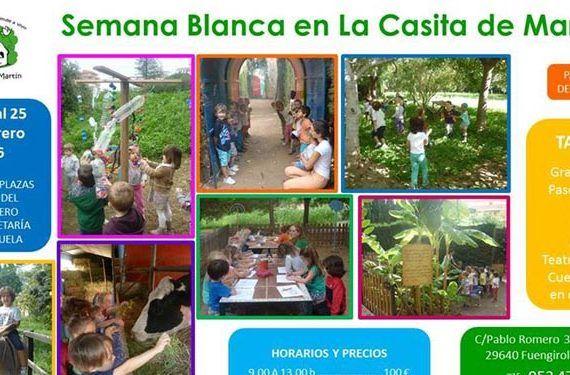 Semana Blanca en Granja-Escuela La Casita de Martín cabecera