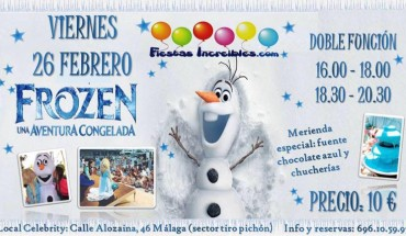 Fiesta Frozen en Málaga