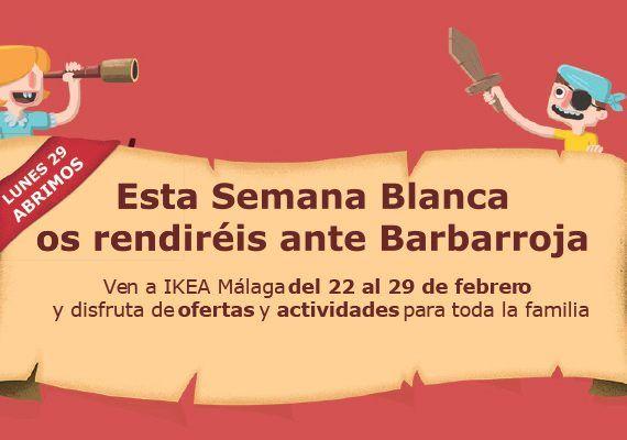Ikea Málaga Semana Blanca