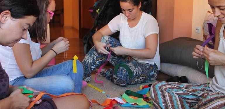 Las Jirafas Saben Bailar agenda marzo taller DIY montessori