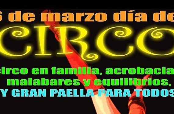 Lauropark y Málaga Escuela de Circo presentan el Gran Día del Circo.