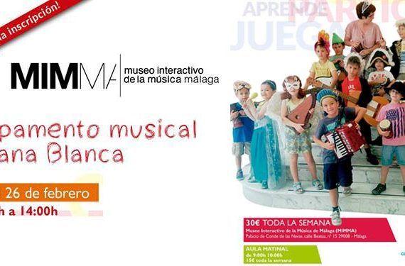 Semana Blanca MIMMA campamento música actividades niños cabecera
