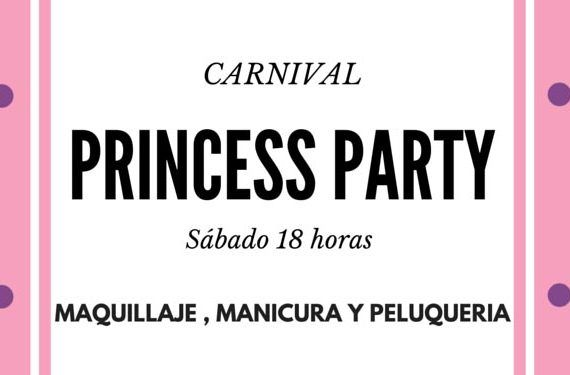 party princess carnaval belleza manicura corte inglés cabecera