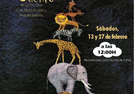 Cuentacuentos en Málaga