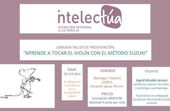 taller violín método Suzuki Centro Intelectúa Alhaurín Torre cabecera