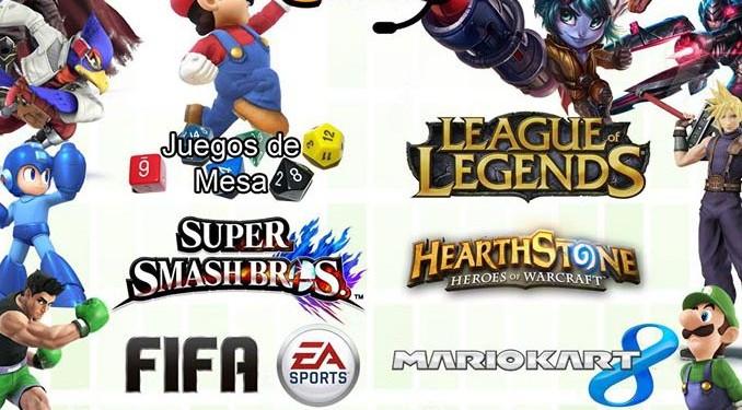 Encuentro de videojuegos en Benalmádena
