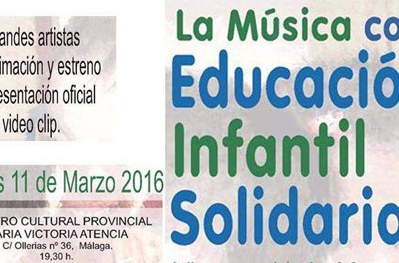 IV Festival La Música con la Educación Infantil Solidaria en Málaga