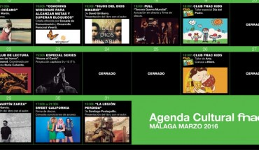 agenda Fnac Málaga marzo 2016