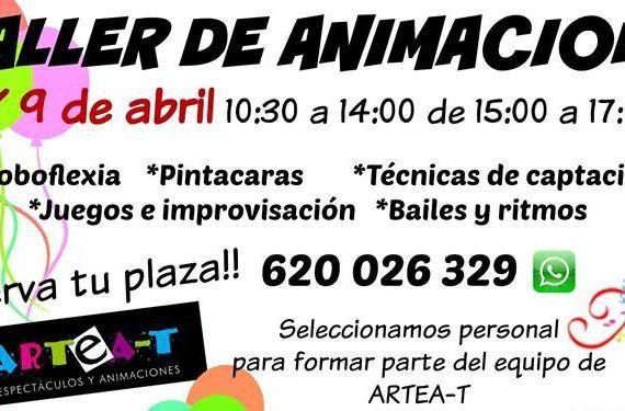 Curso de animación en Málaga Artea-T