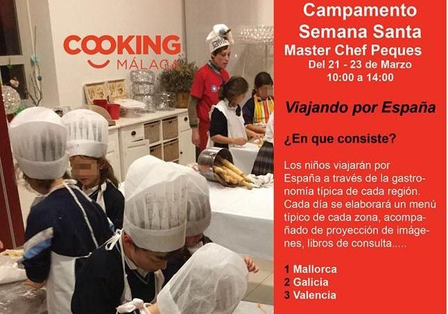 Semana Santa en Cooking Málaga