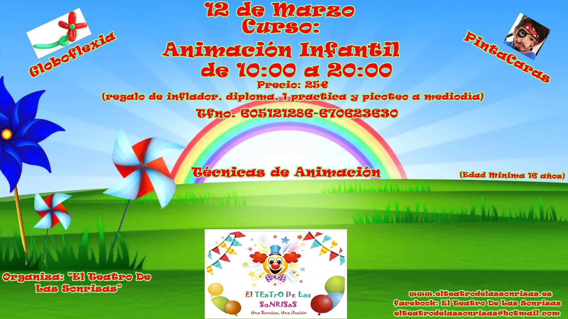 Curso De Animación Infantil En Málaga Con Prácticas Y Bolsa De Trabajo Actividades Para Niños En Málaga La Diversiva