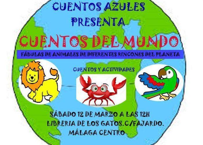 Cuentos en la Librería de los Gatos de Málaga