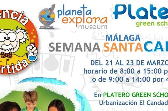 Campamento de Semana Santa PlanetaExplora Málaga en Platero Green School