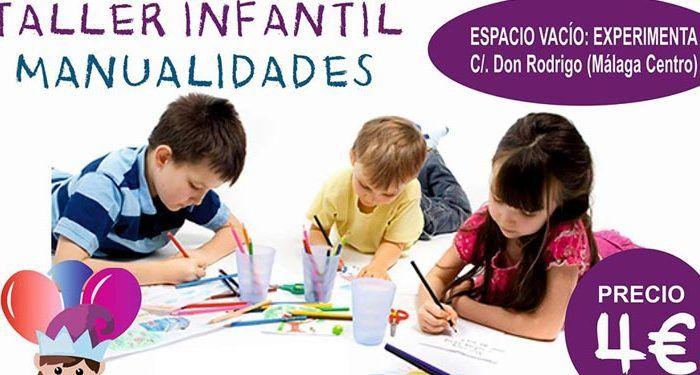 Taller wuiky de manualidades para niños en Málaga