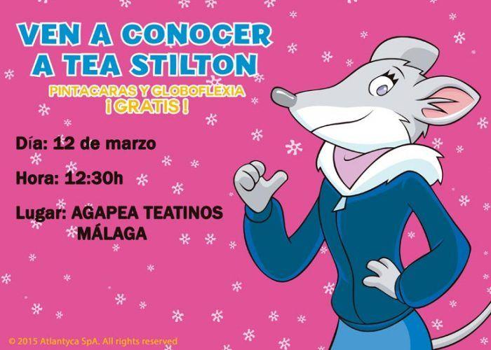 Tea Stilton en Agapea Málaga