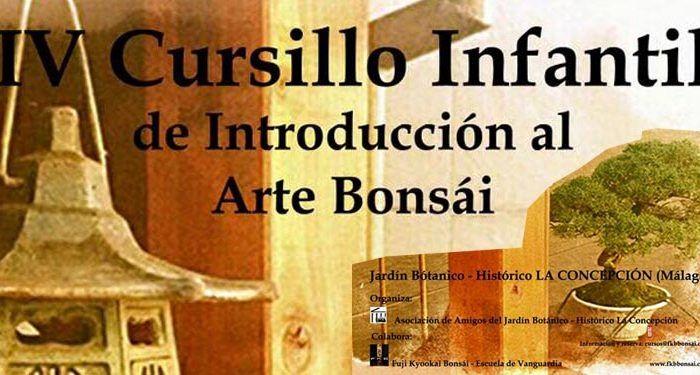 IV Cursillo Infantil de Arte Bonsai La Concepción