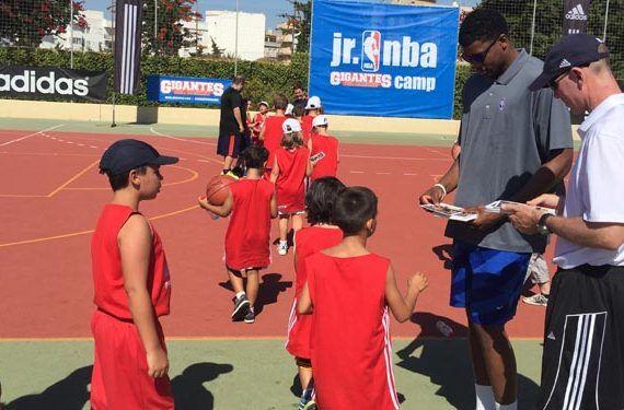 JR NBA Gigantes Camp baloncesto niños Estepona galeria 09