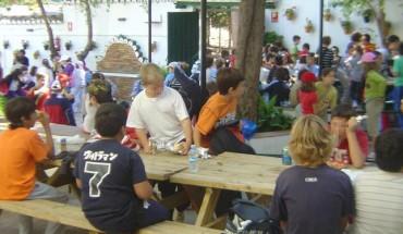 02 galeria campamento verano las contadoras patio interior