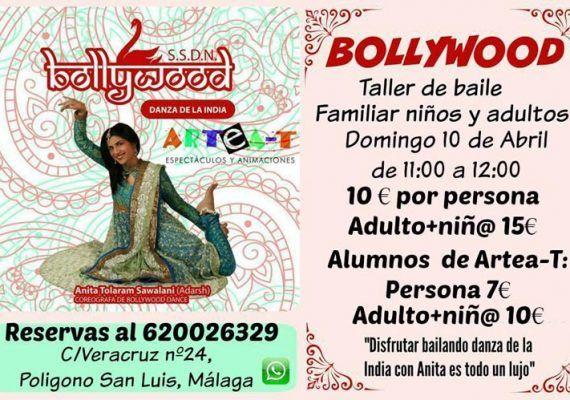 Bollywood para niños en Málaga