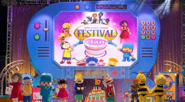 Gira Clan TV en Málaga