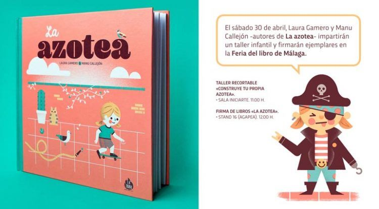 Taller infantil en la Feria del Libro de Málaga
