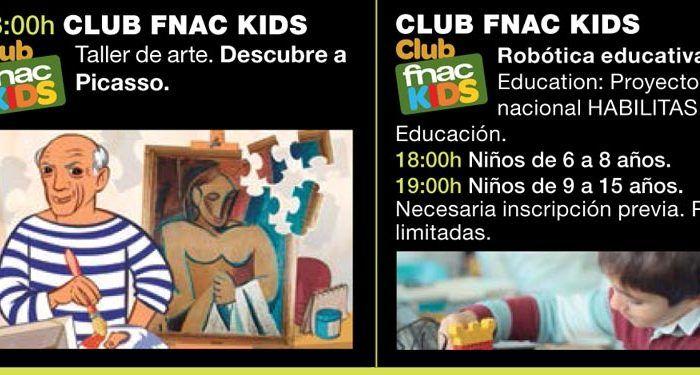 Agenda abril para niños en FNAC Málaga