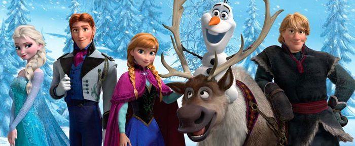 Frozen en el teatro Alameda Málaga