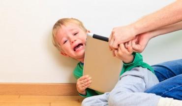 Frustración en los niños